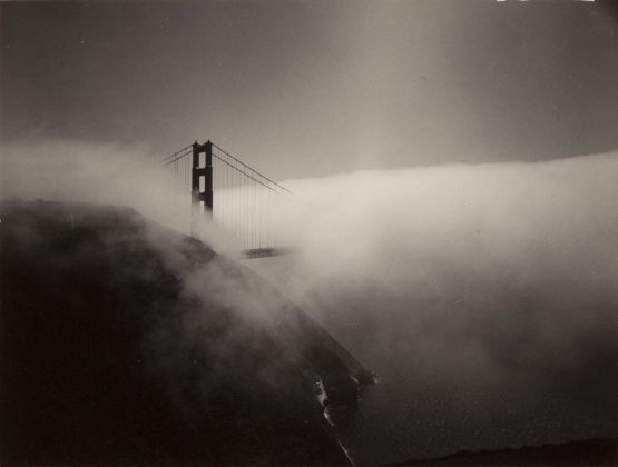 Minor White, Golden Gate Bridge, 1959. Reproduced with permission of the Minor White Archive, Princeton University Art Museum © Trustees of Princeton University, courtesy Fondazione Cassa di Risparmio di Modena