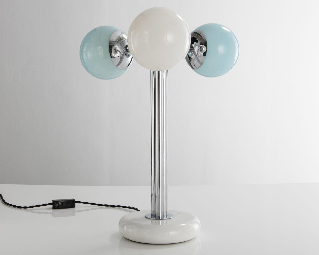 Maria Cristina Didero – SuperDesign. Italian Radical Design 1965-75 (The Monacelli Press, 2017). Polaris Excelsior lamp, designed by Superstudio, 1967, produced by Poltronova. Photo Joe Kramm