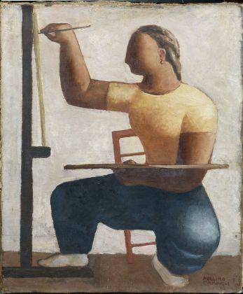 Massimo Campigli, La Pittrice, 1927. Collezione privata, courtesy Farsetti Arte, Prato