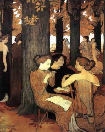 Maurice Denis, Le musa nel bosco sacro, 1893