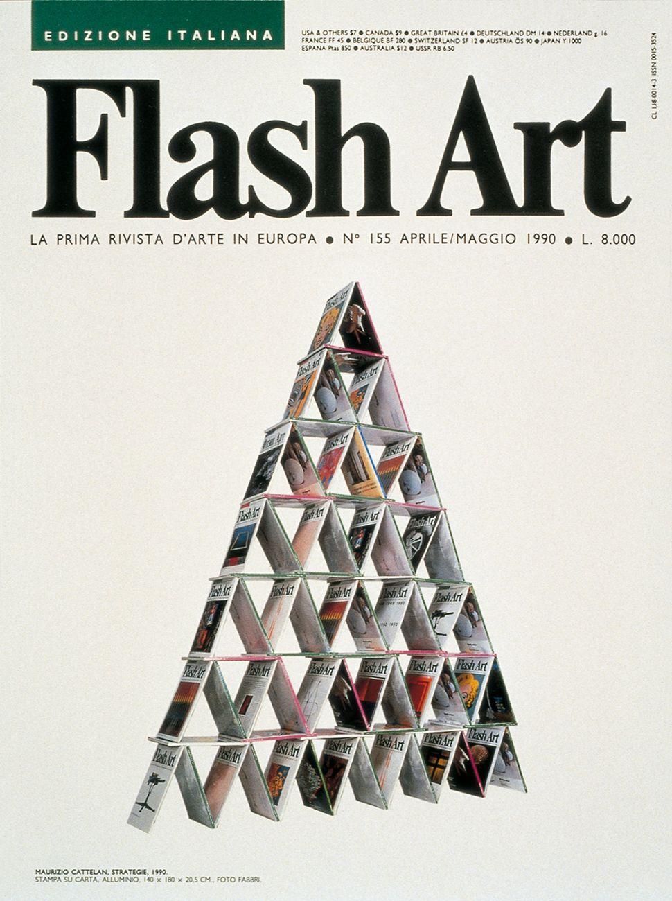 Maurizio Cattelan per Strategie, Galleria Neon, Bologna 1990