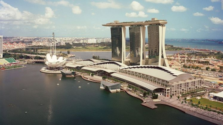 Moshe Safdie, Marina Bay Sands, Singapore