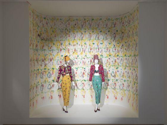 Nick Mauss, Designing Dreams, A Celebration of Leon Bakst. Installation view at Nouveau Musée National de Monaco, Monaco 2017. Courtesy of the artist; Nouveau Musée National de Monaco, Monaco; Campoli Presti, London Paris and 303 Gallery, New York