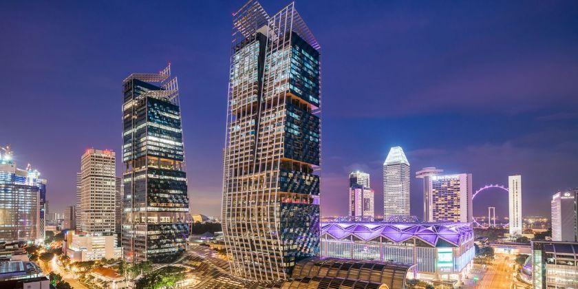 Norman Foster, Beach Road Towers, Singapore, photo Rendy Aryanto/Visual Verve Studios)