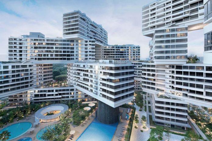 OMA + Ole Scheeren, The Interlace, Singapore