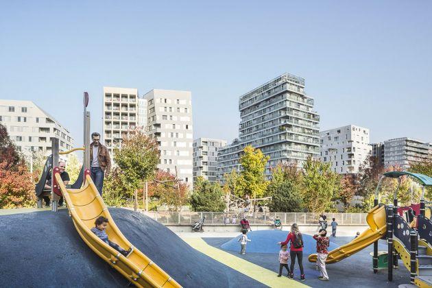 Parco Martin Luther King. Progettista Jacqueline Osty con François Grether e OGI studio di ingegneria. Photo di Sergio Grazia