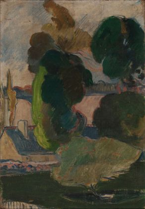 Paul Gauguin, Paesaggio di Bretagna. Collezione privata. Photo credit Stefano Spinelli
