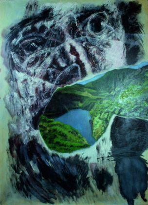 Piero-Dosi-Mangiapaesaggi-2003-olio-su-tela-