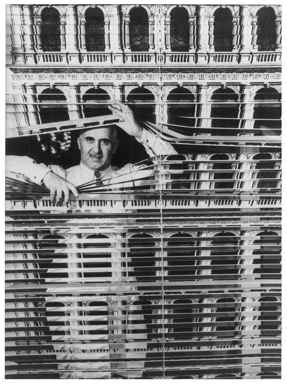 Piero Fornasetti. Photo credit Ugo Mulas