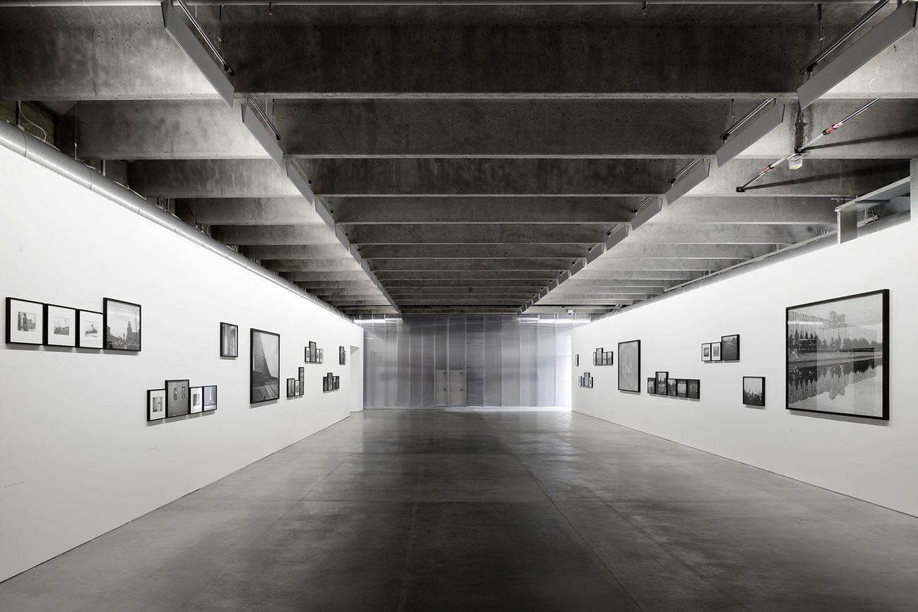 Albúm, Estação Pinacoteca di São Paulo. Dettaglio vista sala Albúm © Mauro Restiffe
