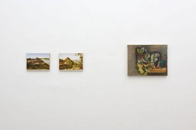 Quidditas. Exhibition view at OTTO Gallery, Bologna 2017. Gabriele Di Matteo, Paola Angelini, photo Michele Alberto Sereni