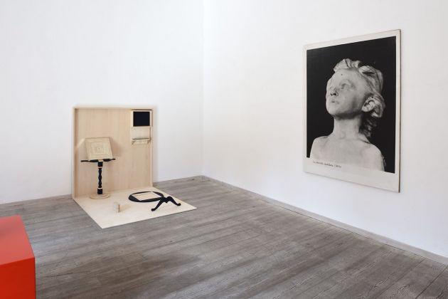 Quidditas. Exhibition view at OTTO Gallery, Bologna 2017. Matteo Fato, Gabriele Di Matteo, photo Michele Alberto Sereni