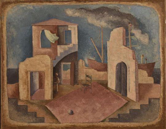 René Paresce, La partenza, 1932. Casa Museo Boschi Di Stefano, Milano
