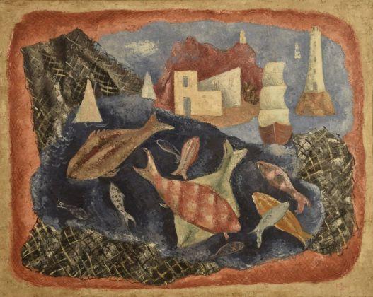 René Paresce, La pesca miracolosa, 1932. Casa Museo Boschi Di Stefano, Milano