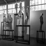Rick Owens. Subhuman Inhuman Superhuman. Exhibition view at La Triennale di Milano, 2017. Photo credit OWENSCORP