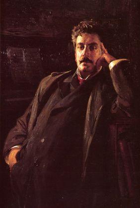 Luigi De Servi, Ritratto di Giacomo Puccini