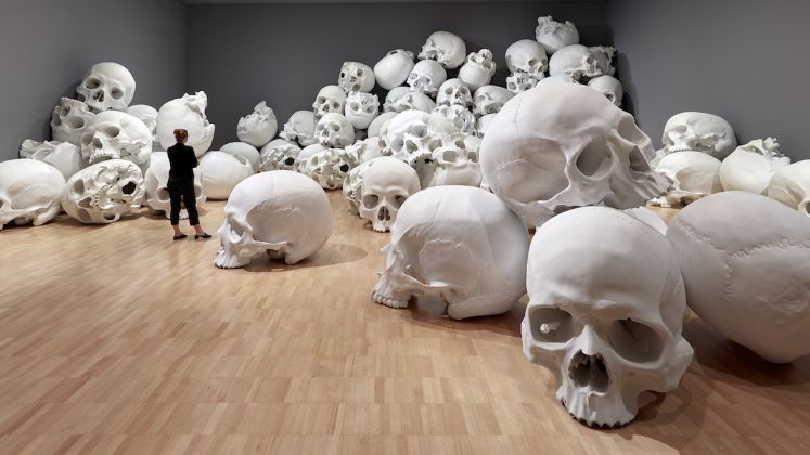 Installation view of Mass by Ron Mueck, 2017 on display at NGV Triennial at NGV International, 2017 Photo: Sean Fennessey
