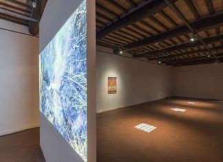 Rosa Aiello, Fate Presto. Exhibition view at Casa Masaccio, San Giovanni Valdarno 2017. Foto OKNOstudio
