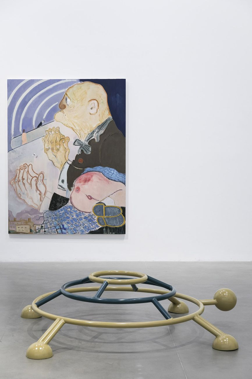 Sanya Kantarovsky. Letdown. Installation view at Fondazione Sandretto Re Rebaudengo, Torino 2017