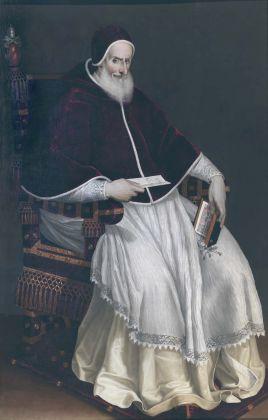 Scipione Pulzone, Ritratto di Pio V Ghislieri, 1569 71, olio su tela. Roma, Roma, Galleria Colonna