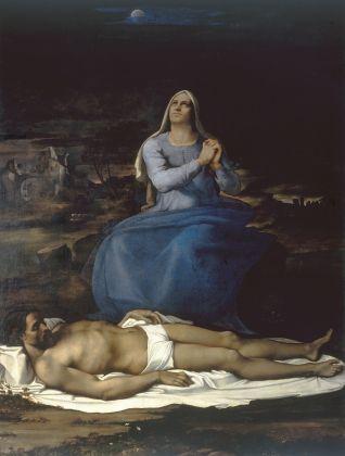 Sebastiano del Piombo, Pietà, 1515. Viterbo, Museo Civico