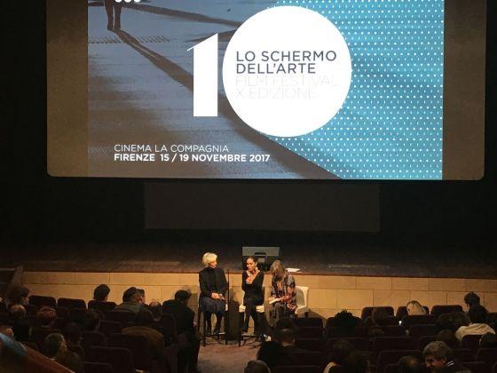 Silvia Lucchesi e Shirin Neshat a Lo schermo dell'arte 2017