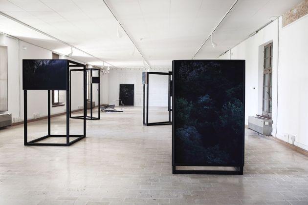 Silvia Mariotti, Pazin (Aria Buia), 2015. Installation view at Villa Manin, Codroipo