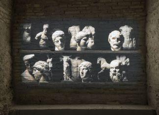 Studio Azzurro, Teatro di Pompeo, 2017. Musia, Roma. Photo credit OKNOstudio