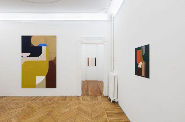 Svenja Deininger. Second Sentence. Installation view at Federica Schiavo Gallery, Milano 2017. Photo Andrea Rossetti. Courtesy Federica Schiavo Gallery