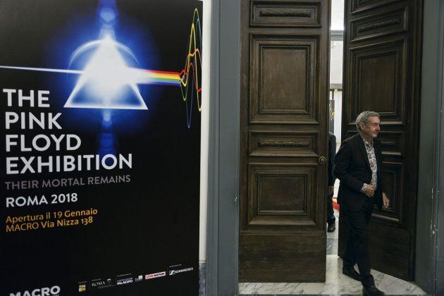 The Pink Floyd Exhibition. Their Mortal Remains. Roma, Campidoglio, Sala della Protomoteca, 2017. Nick Mason. Photo Riccardo Pompili