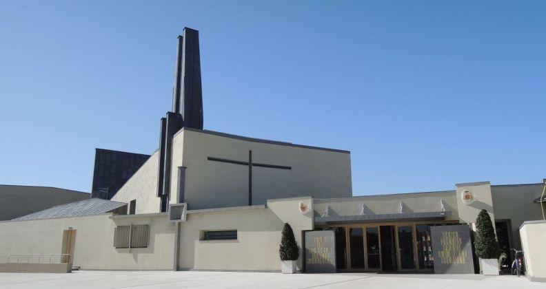 Umberto Riva, Chiesa di San Corbiniano, Roma 2009-11