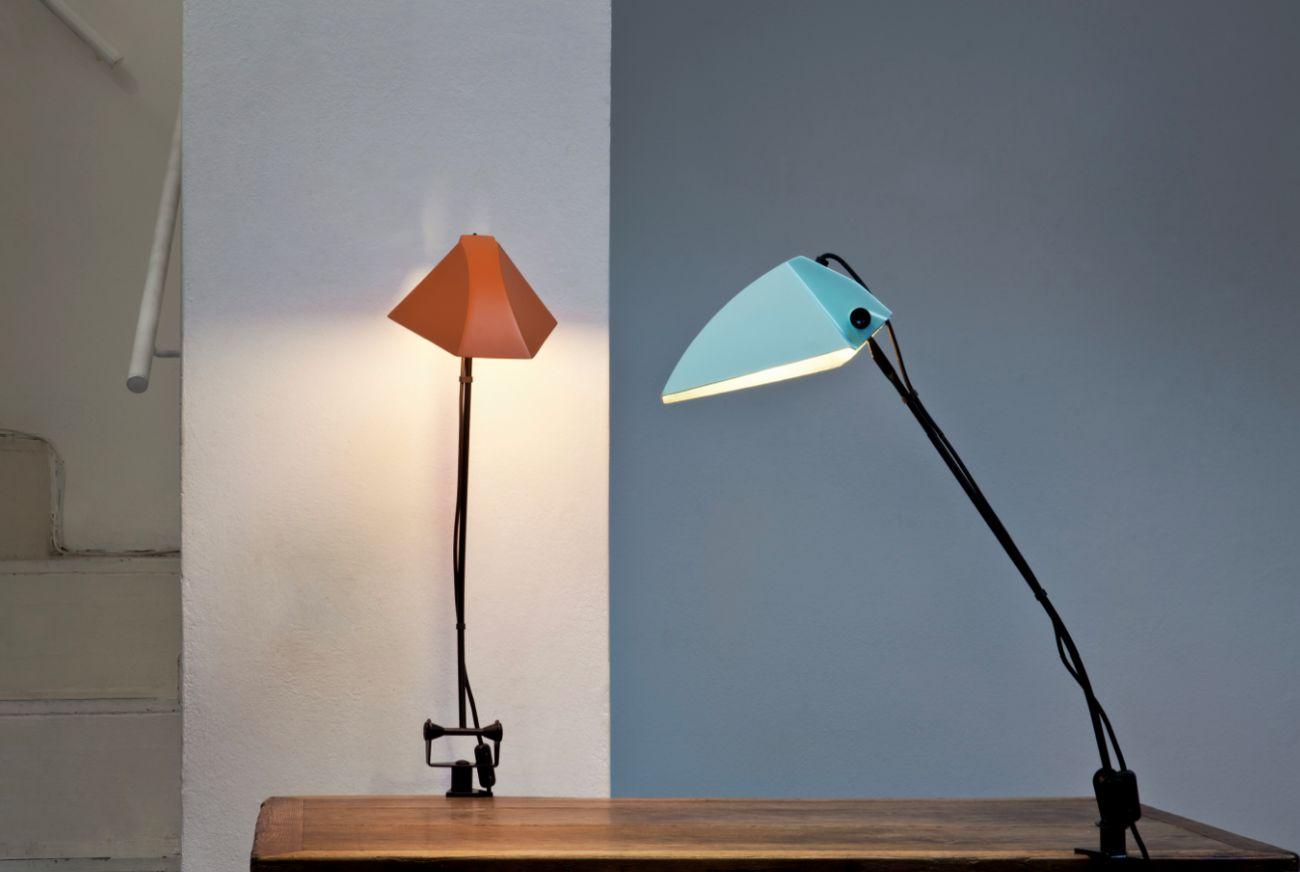 Umberto Riva, lampada Lem, 1963, prod. Francesconi