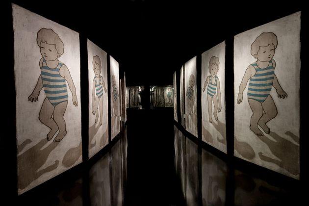 Valerio Berruti. Out of your own. Installation view at Al blu di Prussia, Napoli 2017. Photo Mario Pellegrino. Courtesy l'artista e Al Blu di Prussia, Napoli
