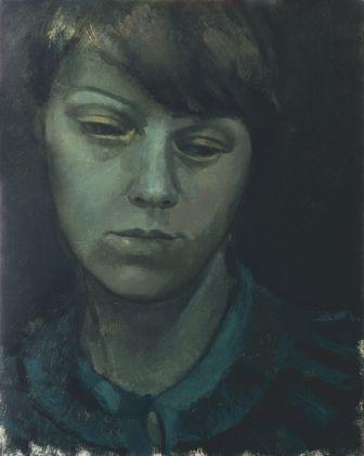 Victor Man, Untitled, 2011, olio su tela, 49,5x39,5 cm