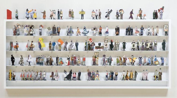William Kentridge, Studio per i costumi de Il Naso, 2009_2015. Collezione particolare