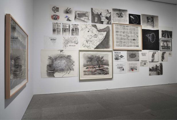 William Kentridge. Basta y Sobra. Exhibition view at Museo Nacional Centro de Arte Reina Sofia, Madrid 2017. Photo Joaquín Cortés_Román Lores