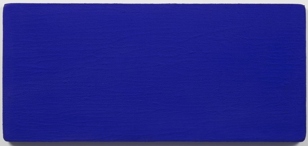 Yves Klein, Untitled Blue Monochrome (IKB 231), 1959