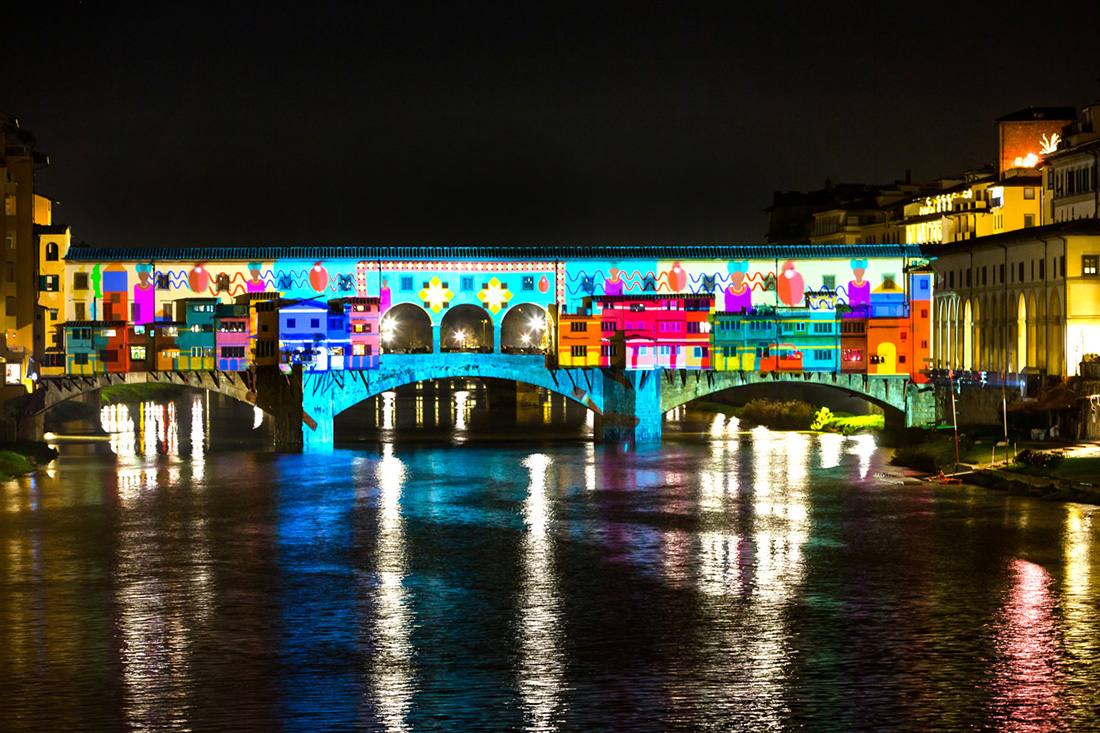 Firenze Light Festival 2017, Courtesy MUS.E