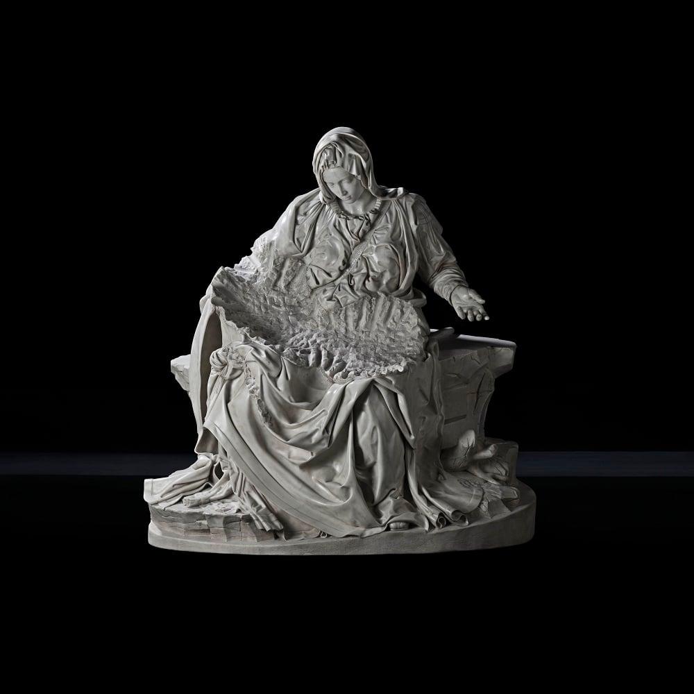 Fabio Viale, Pietà senza Cristo