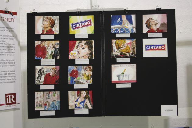 campagna pubblicitaria Cinzano – mostra curata da Fondazione Istituto Rizzoli