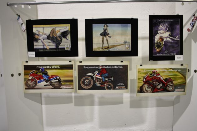 campagna pubblicitaria Honda - mostra curata da Fondazione Istituto Rizzoli