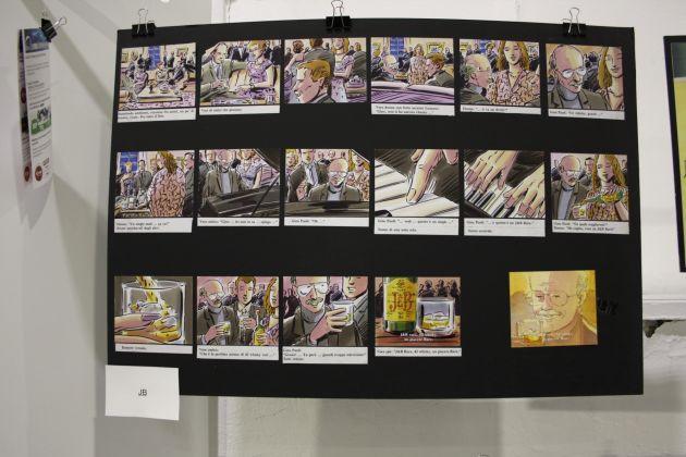 campagna pubblicitaria J&B - mostra curata da Fondazione Istituto Rizzoli