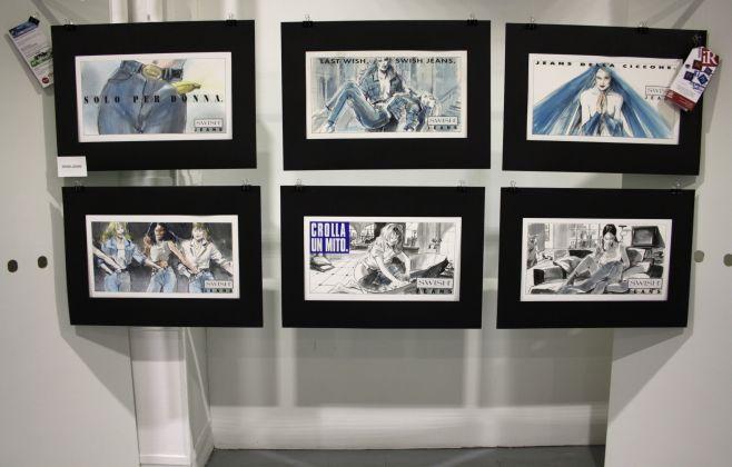 campagna pubblicitaria Swish Jeans - mostra curata da Fondazione Istituto Rizzoli