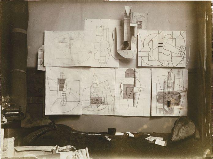 Pablo Picasso, Chitarre, 1912-14