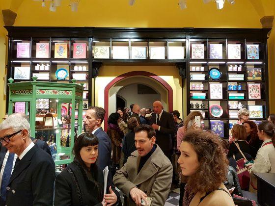 Gucci Garden, Firenze. Immagine dell'opening