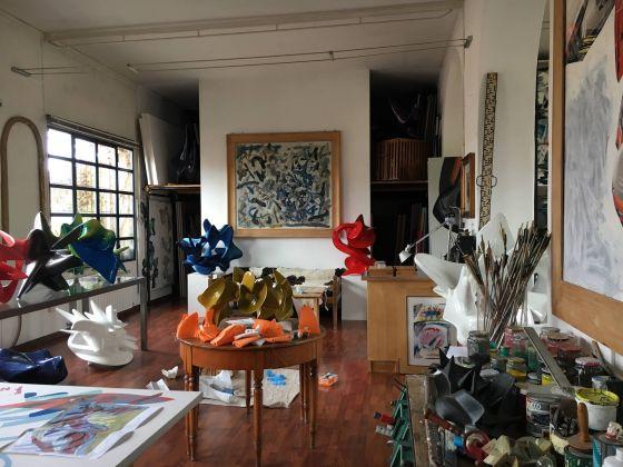 L'atelier di Nino Mustica