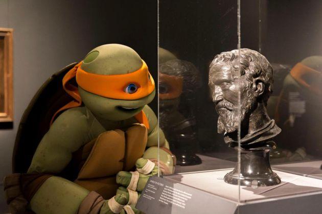 Tartaruga Ninja al Metropolitan Museum of New York