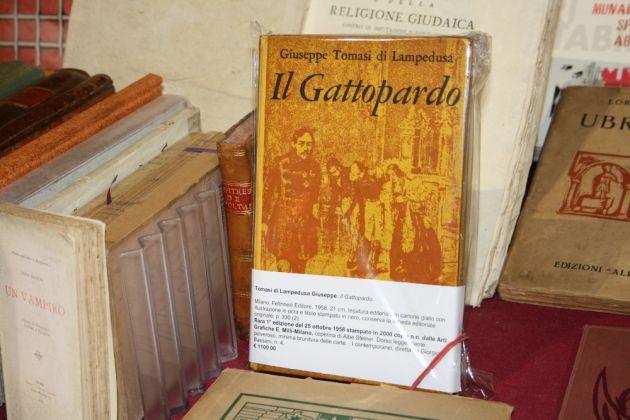 rara prima edizione de Il Gattopardo di Giuseppe Tomasi di Lampedusa (Feltrinelli, 1958)