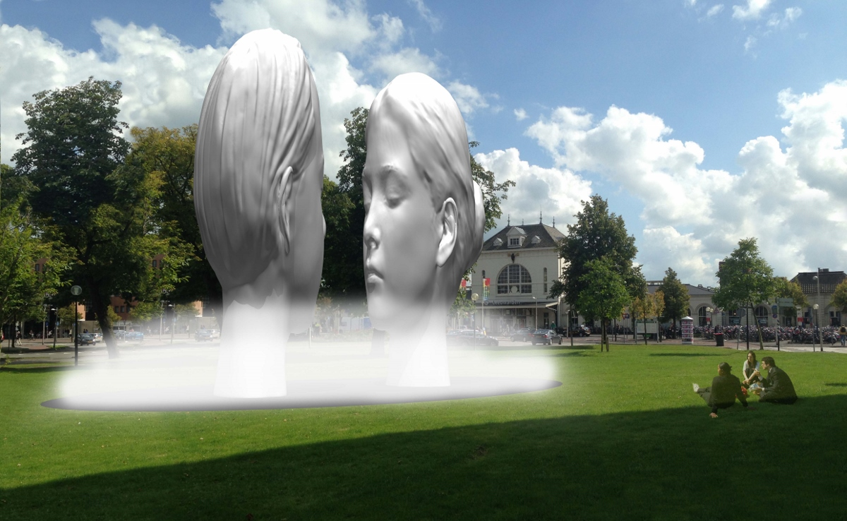 11 Fountains Leeuwarden - Jaume Plensa (Spain) © 11 Fountains