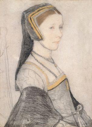 Hans Holbein The Younger, Anne Cresacre - Royal Collection Trust -© Her Majesty Queen Elizabeth II 2018